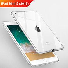 Carcasa Silicona Ultrafina Transparente T03 para Apple iPad Mini 5 (2019) Claro