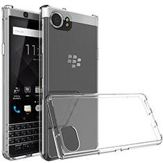 Carcasa Silicona Ultrafina Transparente T03 para Blackberry KEYone Claro