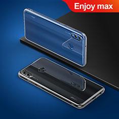 Carcasa Silicona Ultrafina Transparente T03 para Huawei Enjoy Max Claro
