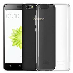 Carcasa Silicona Ultrafina Transparente T03 para Huawei G Play Mini Claro