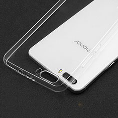Carcasa Silicona Ultrafina Transparente T03 para Huawei Honor 6 Plus Claro