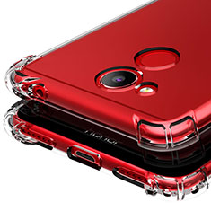 Carcasa Silicona Ultrafina Transparente T03 para Huawei Honor V9 Play Claro