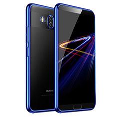 Carcasa Silicona Ultrafina Transparente T03 para Huawei Mate 10 Azul