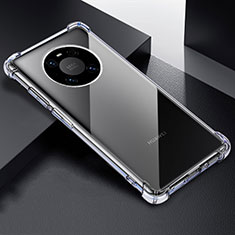Carcasa Silicona Ultrafina Transparente T03 para Huawei Mate 40 Pro Claro