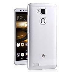 Carcasa Silicona Ultrafina Transparente T03 para Huawei Mate 7 Claro