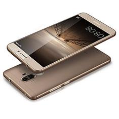 Carcasa Silicona Ultrafina Transparente T03 para Huawei Mate 9 Gris