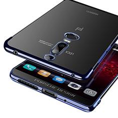 Carcasa Silicona Ultrafina Transparente T03 para Huawei Mate RS Azul