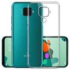 Carcasa Silicona Ultrafina Transparente T03 para Huawei Nova 5z Claro