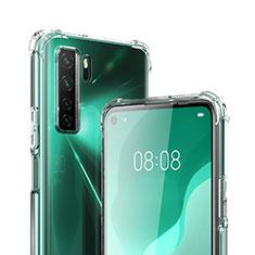 Carcasa Silicona Ultrafina Transparente T03 para Huawei Nova 7 SE 5G Claro