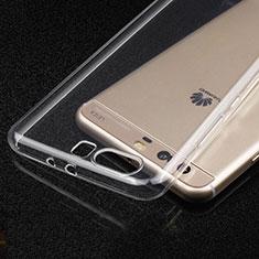 Carcasa Silicona Ultrafina Transparente T03 para Huawei P10 Plus Claro