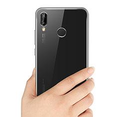 Carcasa Silicona Ultrafina Transparente T03 para Huawei P20 Lite Claro