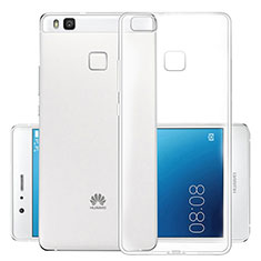 Carcasa Silicona Ultrafina Transparente T03 para Huawei P9 Lite Claro