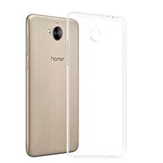 Carcasa Silicona Ultrafina Transparente T03 para Huawei Y6 (2017) Claro