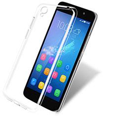 Carcasa Silicona Ultrafina Transparente T03 para Huawei Y6 Claro