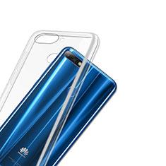 Carcasa Silicona Ultrafina Transparente T03 para Huawei Y7 (2018) Claro