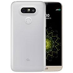 Carcasa Silicona Ultrafina Transparente T03 para LG G5 Claro