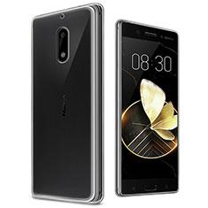 Carcasa Silicona Ultrafina Transparente T03 para Nokia 6 Claro