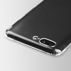 Carcasa Silicona Ultrafina Transparente T03 para OnePlus 5 Claro