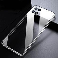 Carcasa Silicona Ultrafina Transparente T03 para Oppo A73 5G Claro