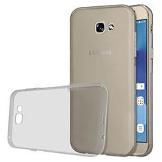 Carcasa Silicona Ultrafina Transparente T03 para Samsung Galaxy A5 (2017) SM-A520F Gris