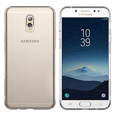 Carcasa Silicona Ultrafina Transparente T03 para Samsung Galaxy C8 C710F Claro