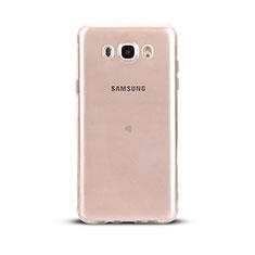 Carcasa Silicona Ultrafina Transparente T03 para Samsung Galaxy J5 (2016) J510FN J5108 Claro