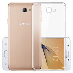 Carcasa Silicona Ultrafina Transparente T03 para Samsung Galaxy J5 Prime G570F Claro