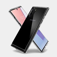 Carcasa Silicona Ultrafina Transparente T03 para Samsung Galaxy Note 10 Plus 5G Claro