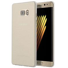 Carcasa Silicona Ultrafina Transparente T03 para Samsung Galaxy Note 7 Claro