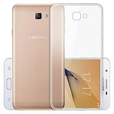 Carcasa Silicona Ultrafina Transparente T03 para Samsung Galaxy On5 (2016) G570 G570F Claro