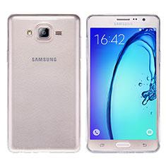 Carcasa Silicona Ultrafina Transparente T03 para Samsung Galaxy On7 G600FY Claro