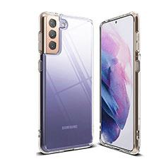 Carcasa Silicona Ultrafina Transparente T03 para Samsung Galaxy S21 5G Claro