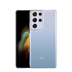 Carcasa Silicona Ultrafina Transparente T03 para Samsung Galaxy S21 Ultra 5G Claro