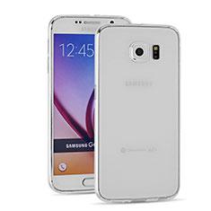 Carcasa Silicona Ultrafina Transparente T03 para Samsung Galaxy S6 Duos SM-G920F G9200 Claro
