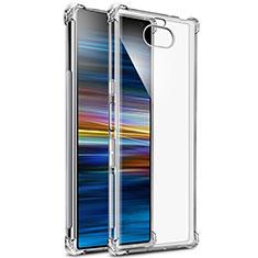 Carcasa Silicona Ultrafina Transparente T03 para Sony Xperia 10 Plus Claro