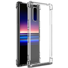 Carcasa Silicona Ultrafina Transparente T03 para Sony Xperia 5 Claro