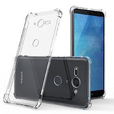 Carcasa Silicona Ultrafina Transparente T03 para Sony Xperia XZ2 Compact Claro