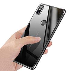 Carcasa Silicona Ultrafina Transparente T03 para Xiaomi Mi Mix 2S Plata