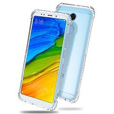 Carcasa Silicona Ultrafina Transparente T03 para Xiaomi Redmi Note 5 Indian Version Claro