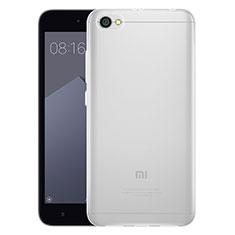 Carcasa Silicona Ultrafina Transparente T03 para Xiaomi Redmi Note 5A Standard Edition Claro