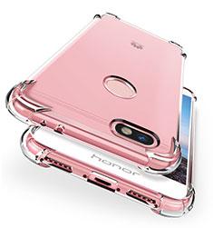 Carcasa Silicona Ultrafina Transparente T04 para Huawei Enjoy 7 Claro