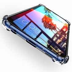 Carcasa Silicona Ultrafina Transparente T04 para Huawei Enjoy 8 Claro