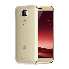 Carcasa Silicona Ultrafina Transparente T04 para Huawei G8 Claro