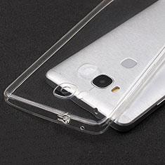 Carcasa Silicona Ultrafina Transparente T04 para Huawei GR5 Claro