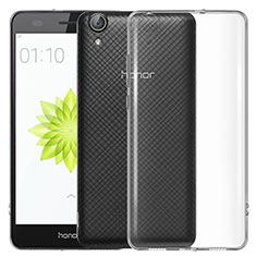 Carcasa Silicona Ultrafina Transparente T04 para Huawei Honor 5A Claro