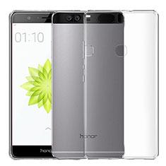 Carcasa Silicona Ultrafina Transparente T04 para Huawei Honor V8 Claro