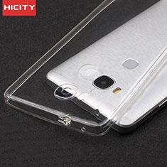 Carcasa Silicona Ultrafina Transparente T04 para Huawei Honor X5 Claro