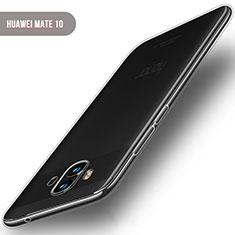 Carcasa Silicona Ultrafina Transparente T04 para Huawei Mate 10 Claro