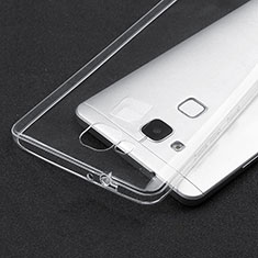 Carcasa Silicona Ultrafina Transparente T04 para Huawei Mate 7 Claro