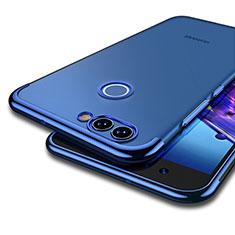 Carcasa Silicona Ultrafina Transparente T04 para Huawei Nova 2 Azul